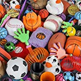 Kicko Sports Balls Toy Assortment - Variety Pack for Classrooms, Playground and Carnivals - Perfect for Birthday Gifts, Novelties, Game Prizes, Educational Toys, Party Favor, and Supplies