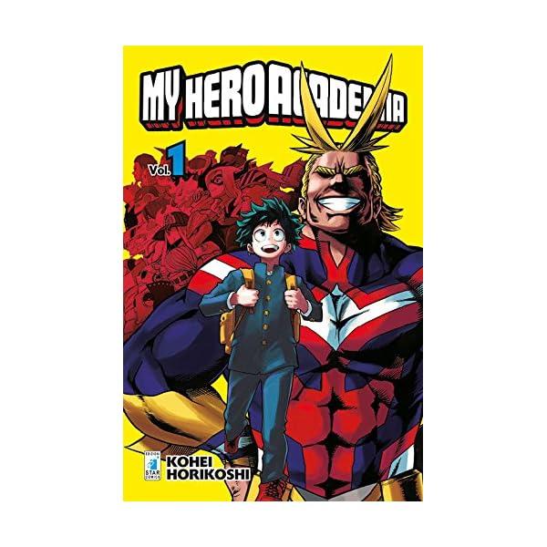 My Hero Academia (Vol. 1), kohei horikoshi
