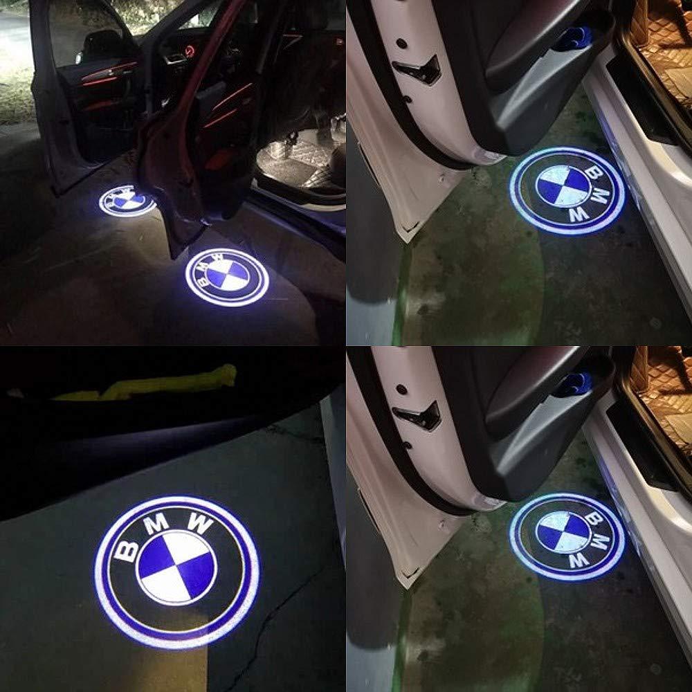 CDBGR Autot/ür Led Licht Logo Projektor Einstiegsbeleuchtung T/ür Licht Logo Auto Innenbeleuchtung F/ür BMW