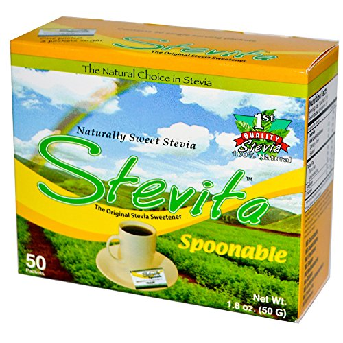 Stevita Spoonable Stevia Packets 1 8 product image