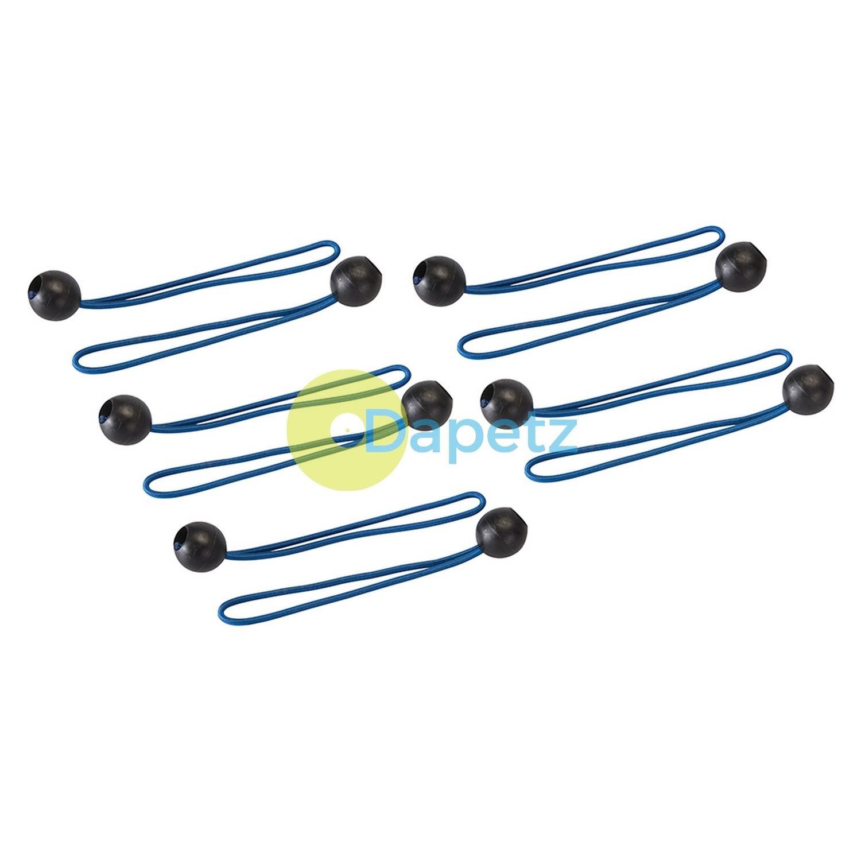 Silverline 237045 Tarpaulin Ball Bungees 10pk 175mm