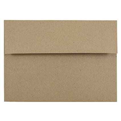 amazon com jam paper a7 premium invitation envelopes 5 1 4 x 7 1