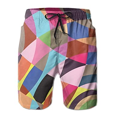 dfhdshsd Color Cross Printing Mens Yoga Board Short, Soft ...