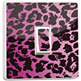 to clear 7 x pink leopard print All Personalised Gifts