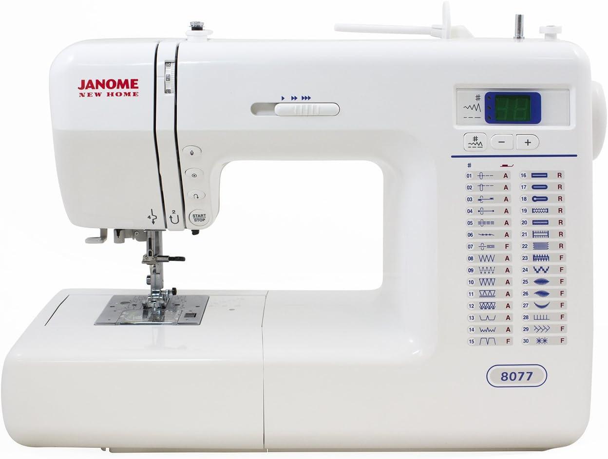 Janome 8077 máquina de coser computarizada, incluye exclusivo ...