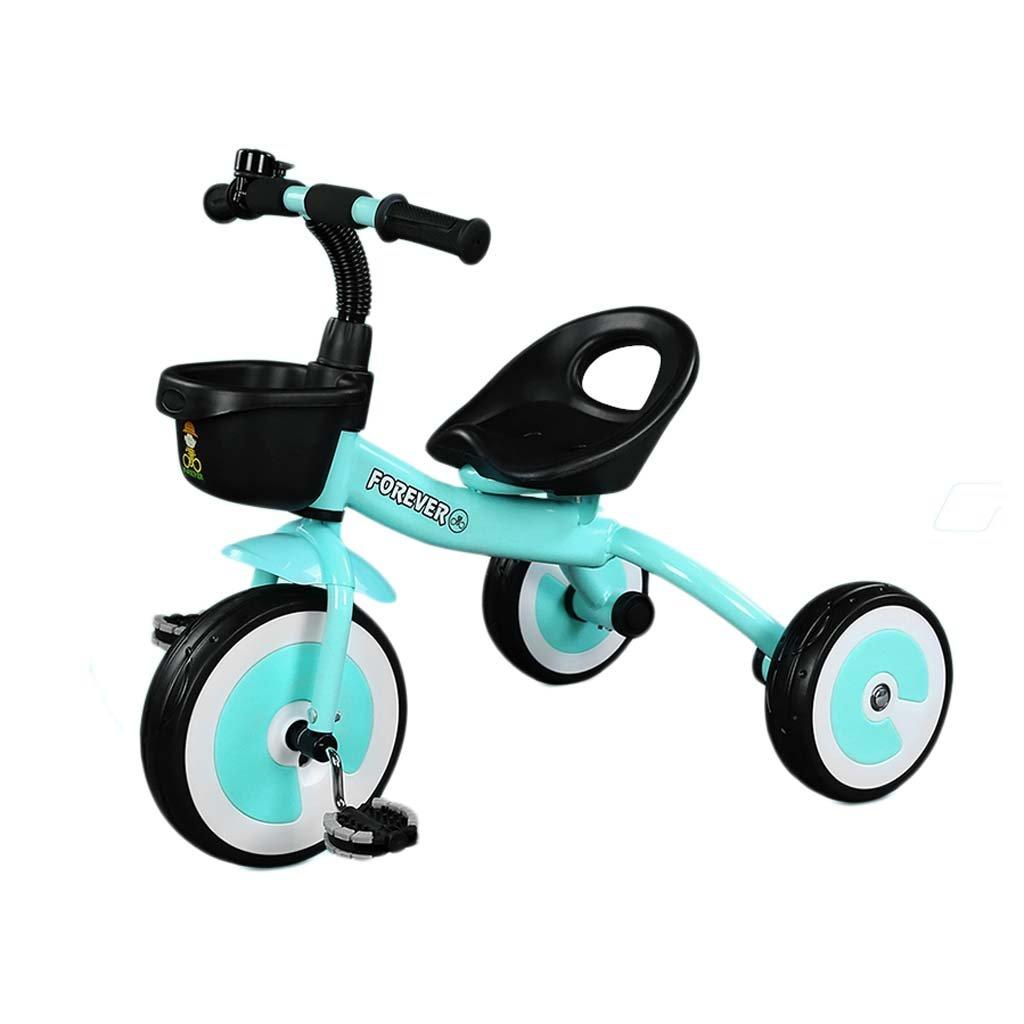 Blau Kinder Dreirad - Baby Balance Fahrrad, Kinder Fahrt Auf Spielzeug, Sicher Und Bequem Infant First Bike Für Alter Von 24 Bis 60 Monaten, Eine Gute Möglichkeit, Motorik Zu Entwickeln Und Viel Spaß ,Blau