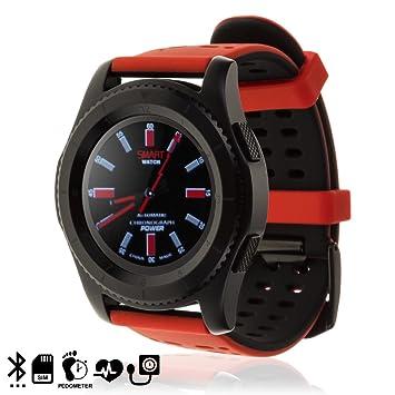 DAM TEKKIWEAR. Smartwatch G8 de Pantalla Circular,con Slot ...