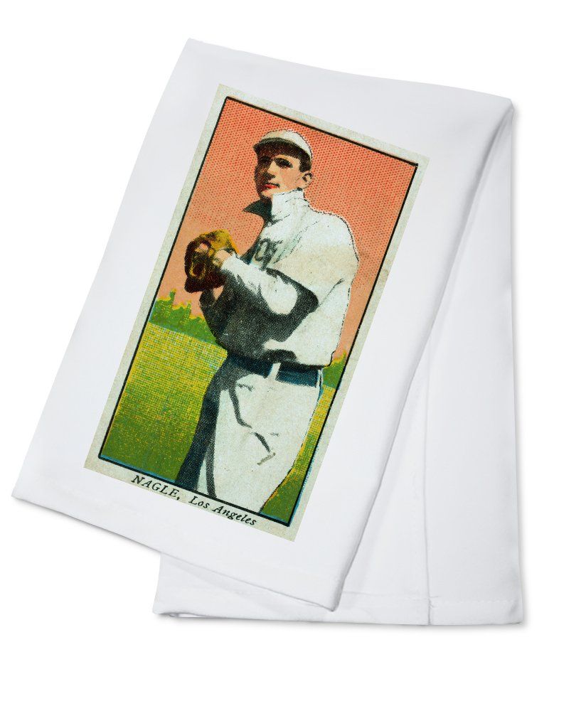 Los Angeles Pacific Coast League – Nagle – 野球カード Cotton Towel LANT-23400-TL Cotton Towel  B0184BIXWS