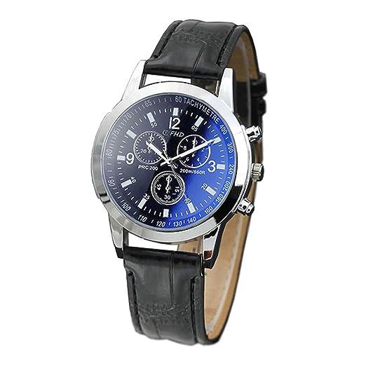 Modaworld Relojes Hombre Reloj de Pulsera de Analógico de Cuarzo Relojs Elegante Impermeable Negocios Relojes para Hombre: Amazon.es: Relojes