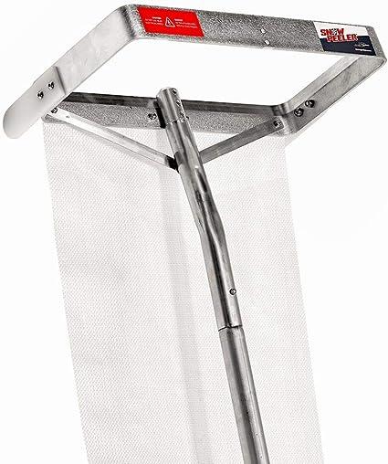 SNOWPEELER Premium Roof Rake - The Best Roof Rake for Precise Snow Removal