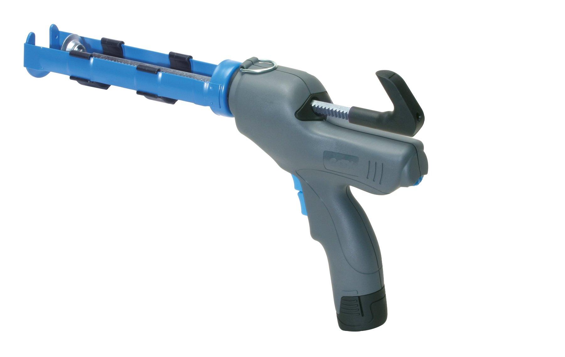 COX 82010-L Volten Light 12-volt Lithium Ion 10-Ounce Cartridge Caulk Gun