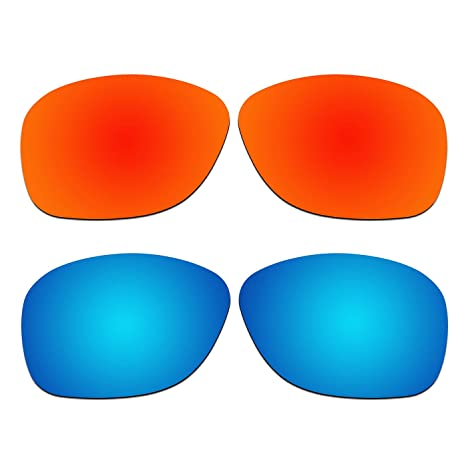 c5f01da3ce02 Amazon.com   ACOMPATIBLE 2 Pair Replacement Polarized Lenses for Oakley  She s Unstoppable Sunglasses OO9297 Pack P2   Sports   Outdoors