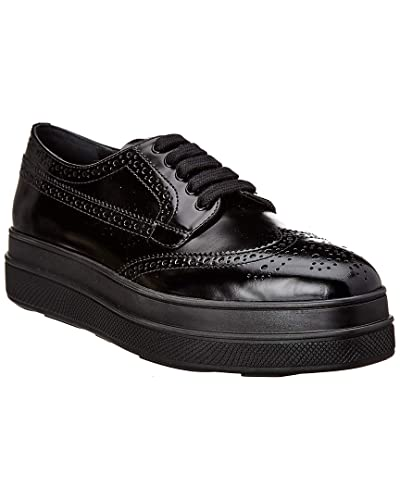 2bd4e648914 Image Unavailable. Image not available for. Color  Prada Leather Platform  Brogue