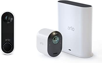 Arlo Ultra 4K UHD Wire Free Security Camera With 2 Way Audio