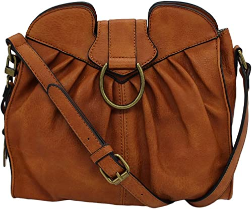 Simply Noelle Cinched Signature Shoulder Bag