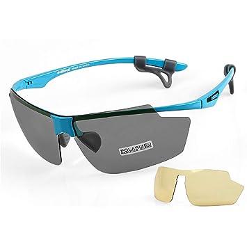 Gafas Polarizadas De Equitación Deportes Ultra Light Gafas De Sol Al Aire Libre De Protección Ocular