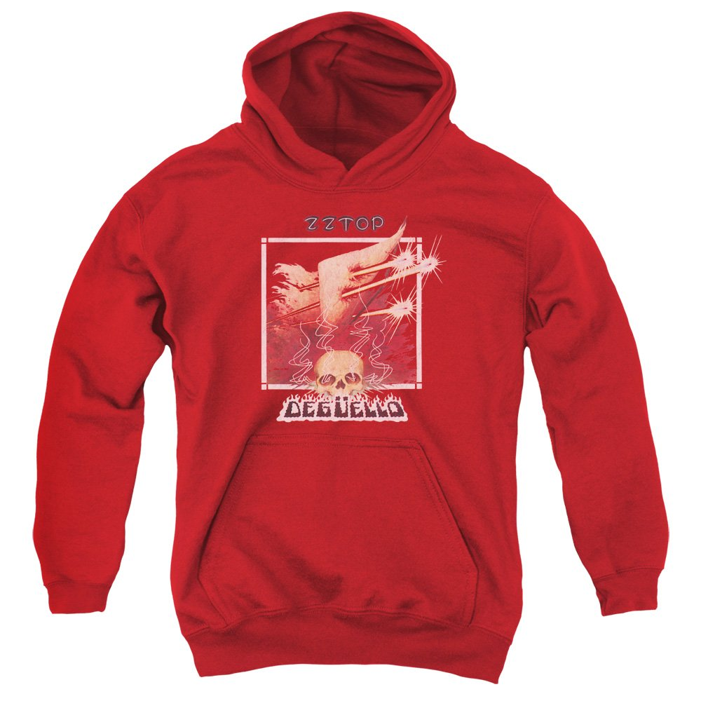 Zz Top Youth Deguello Cover Pullover Hoodie