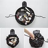 旅行メイクバッグ YOKINO 旅行化粧バッグ メイク収納バッグ 化粧ポーチ 大容量 巾着 マジックふろしきポーチ 風