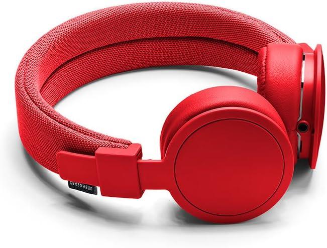 Urbanears Plattan ADV On-Ear Headphones, Tomato (4091046)