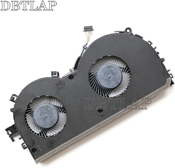 DBTLAP CPU Ventilateur pour Lenovo Rescuer Y520 R720 R720-15IKB DFS551205WQ0T FJ9D DC28000D6F10 Portable Ventilateur