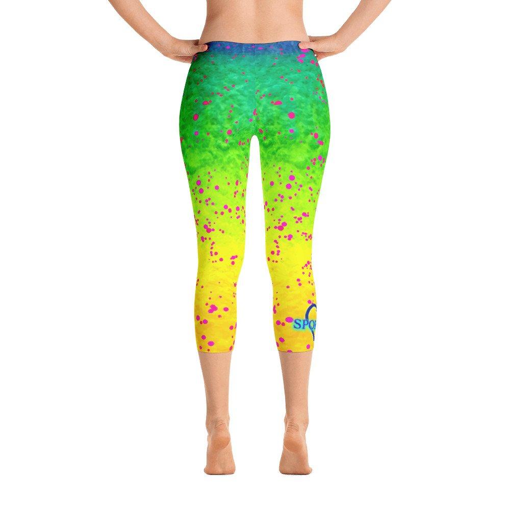 Sporty Girl Pink Mahi Capri Leggings