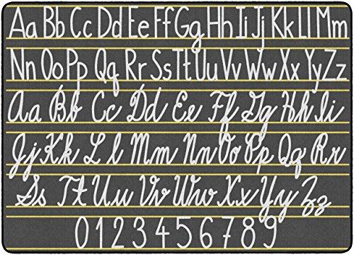 Flagship Carpets FE288-32A Handwriting Samplers, Multi