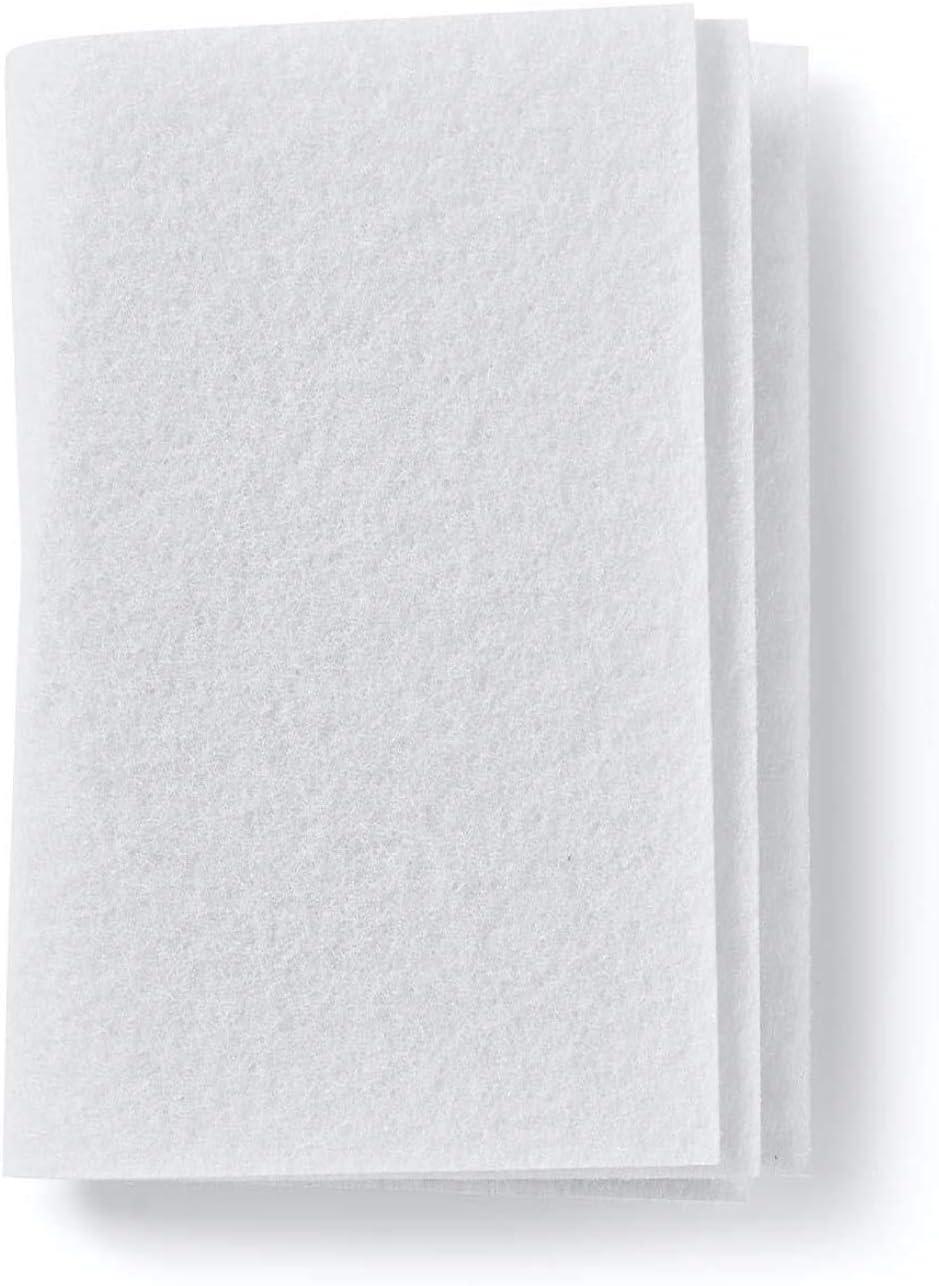 10 microfiltro/filtro de aire/filtro de motor/filtro de aire/microfiltro/alfombrilla de filtro, se puede cortar, aprox. 190 x 150 mm de Microsafe®