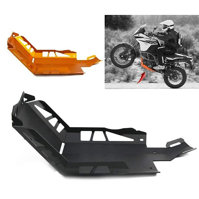 COPART Motorcycle Engine Bash Crash Guards Skid Plate Protector for KTM 1050 Adv 2015-2016 1190 Adv 2013-2016 1290 Adv 2014-2019 Orange