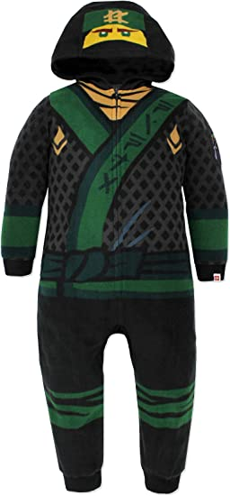 Lego Star Wars Stormtrooper Boys Fleece Hooded Union Suit Pajamas