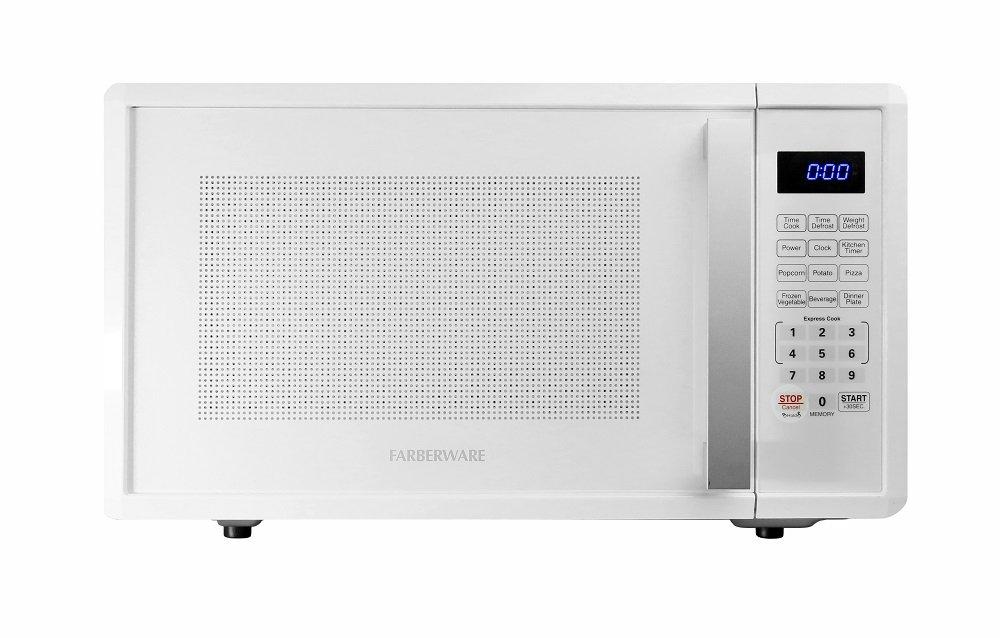 Farberware FMWO11AHTWHC 1000-Watt Microwave Oven 1.1 cu. ft. White