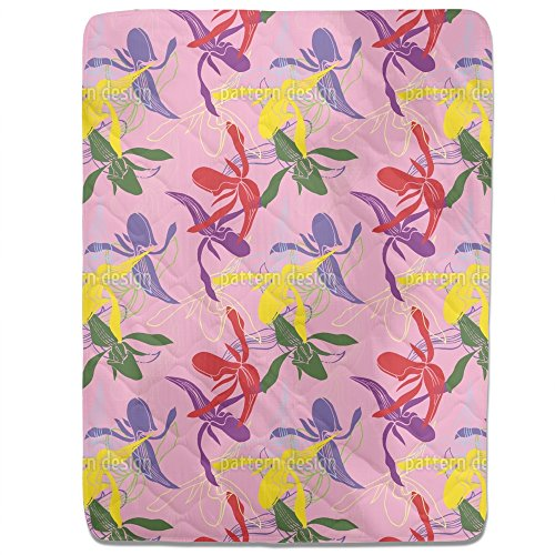 Orchid Color Fitted Sheet: King Luxury Microfiber, Soft, Breathable by uneekee