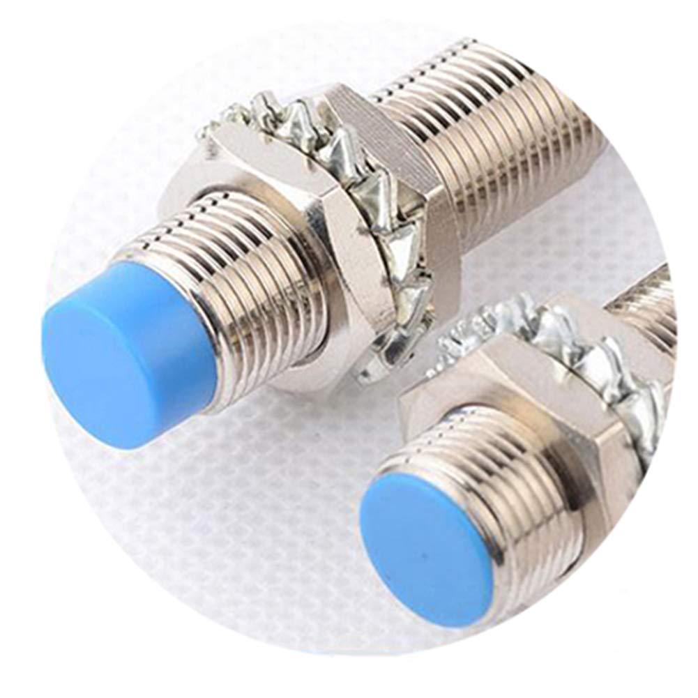 Blue 3D Printer Parts and Accessories,dezirZJjx 3D Printer LJ12A3-4-Z//BX Inductive Proximity Sensor Detection Switch DC 6V-36V