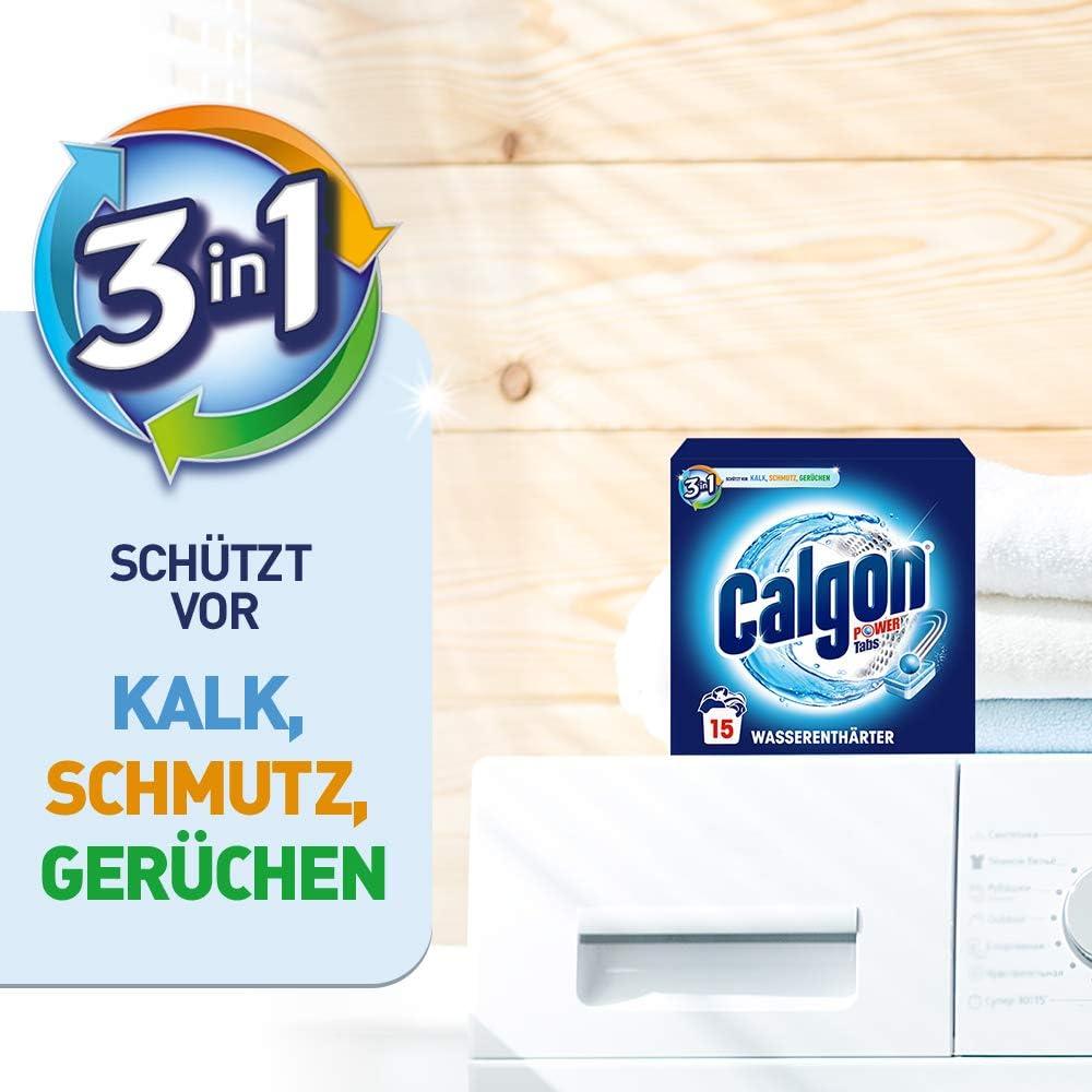 Waschmaschine anwendung tabs calgon Calgon 3in1