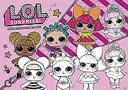 L.O.L. Surprise!: Prancheta Para Colorir Especial