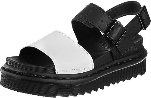 5b0aa2c9f3c0 Dr. Martens Voss W Sandal Black White  Amazon.co.uk  Shoes   Bags