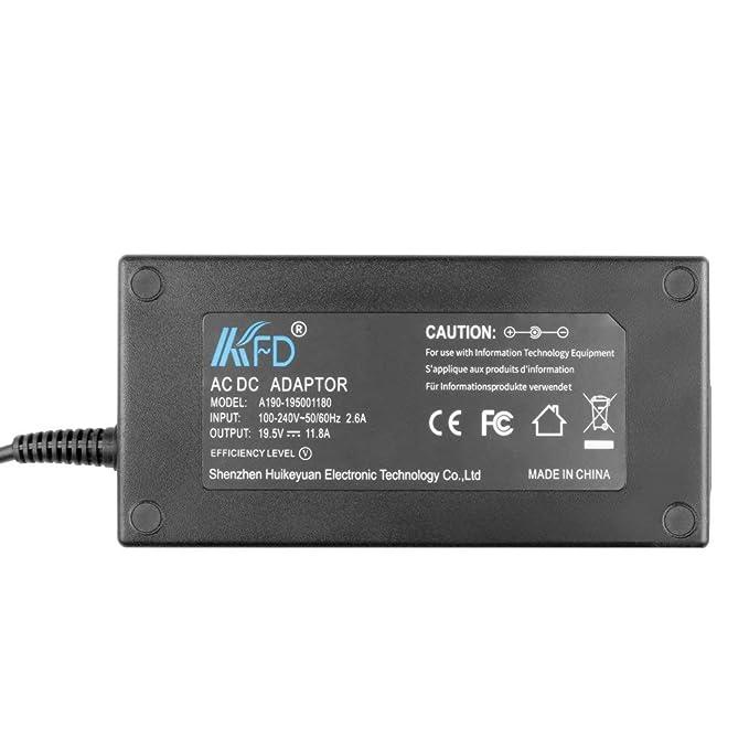 KFD 230W Adaptador Ordenador PC Portátil Cargador para HP EliteBook 8540w 8740w 8750w 8760w 8770w 609836-001 611533-001 HSTNN-DA12S 8460W 8540P ProBook ...