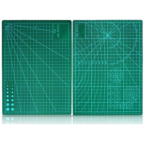 Herramienta Craft doble cara de corte Estera verde de la Junta A4 Tamaño Pad Modelo Curación Diseño