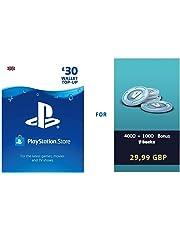 PSN credit for Fortnite - 4.000 V-Bucks + 1.000 extra V-Bucks - 5.000 V-Bucks DLC | PS4 Download Code - UK Account  - 5,000 V-Bucks  Edition | PS4 Download Code - UK Account