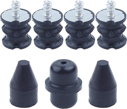 Haishine Annular AV Buffer Isolator Shock Mount Kit for Husqvarna 137 142 Chainsaw Rubber Replacement Parts