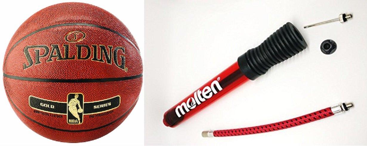 Spalding NBA Oro in/out Talla 7 + Molten dhp21 de cr (baugleich ...