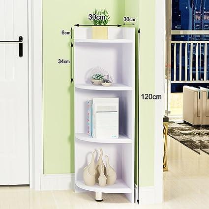 Libreria Ad Angolo Moderna.Mensole Di Stoccaggio Subbye Floorstanding Semplice Angolo