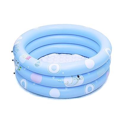 Amazon Com Children Cartoon Inflatable Folding Swimming Pool