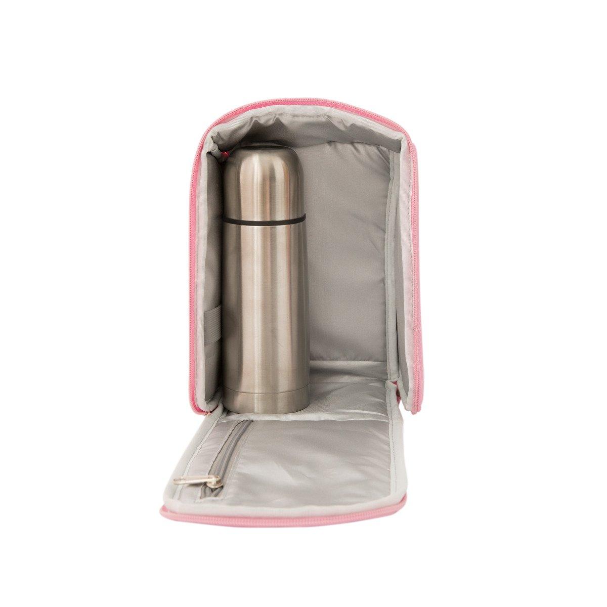 Mochila Termica con termo liquido 350ml Mr Wonderful Rosa ...