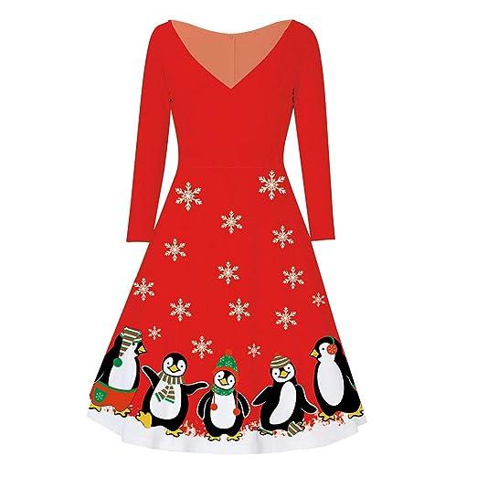ღLILICATღ Vestidos Invierno Mujer,Halloween Christmas ...