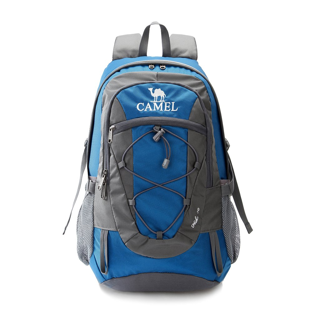 Camel 30L Lightweight Travel Backpack Outdoor Mountaineering Hiking Daypack with Durable & Waterproof A5W3C3135HE0
