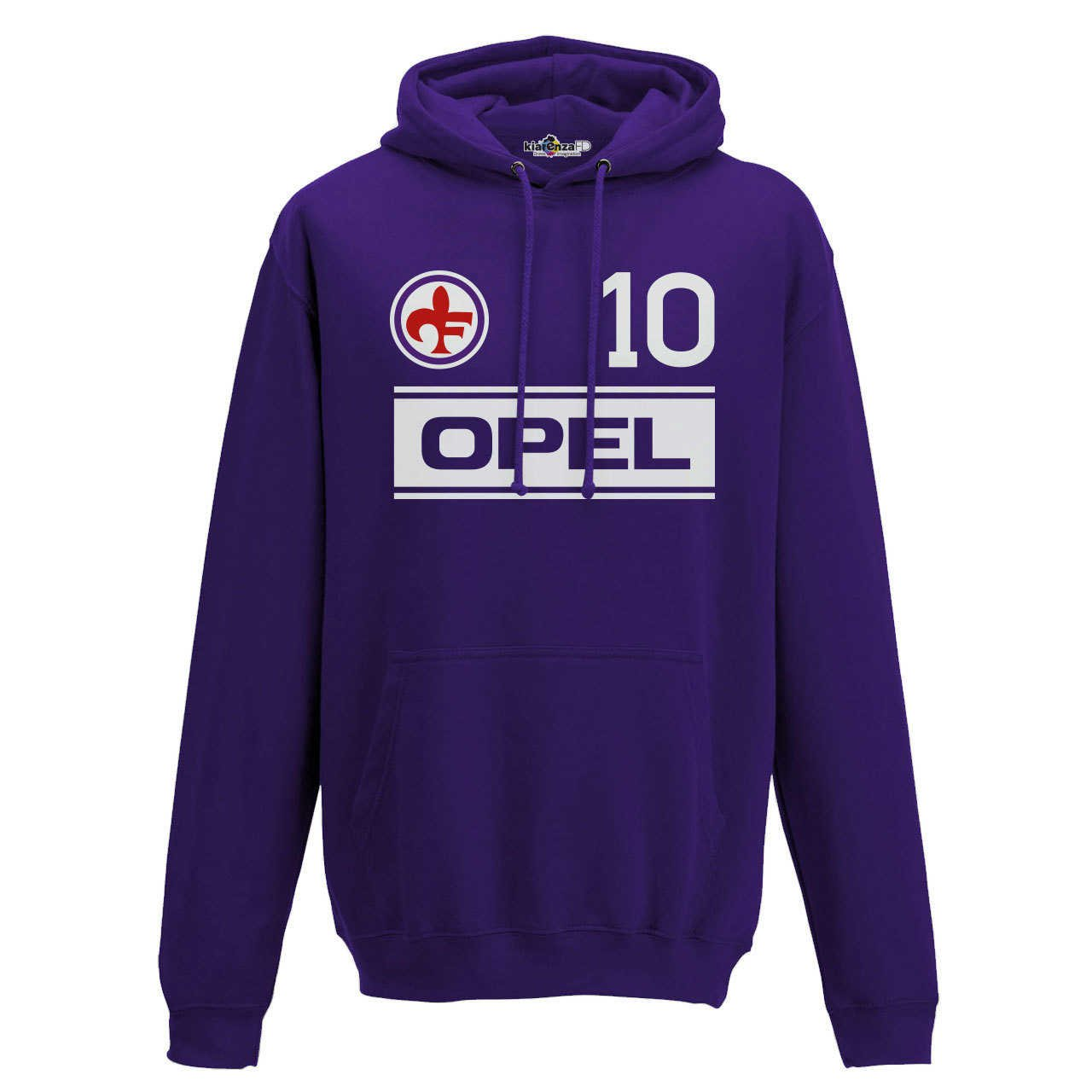 Felpa Cappuccio Calcio Vintage Giancarlo Fiorentina 10 Antognoni ...