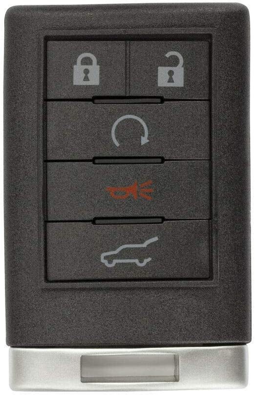 FikeyPro Entry Remote Key Fob for 2008 2009 2010 2011 2012 2013 Cadillac CTS OUC6000066