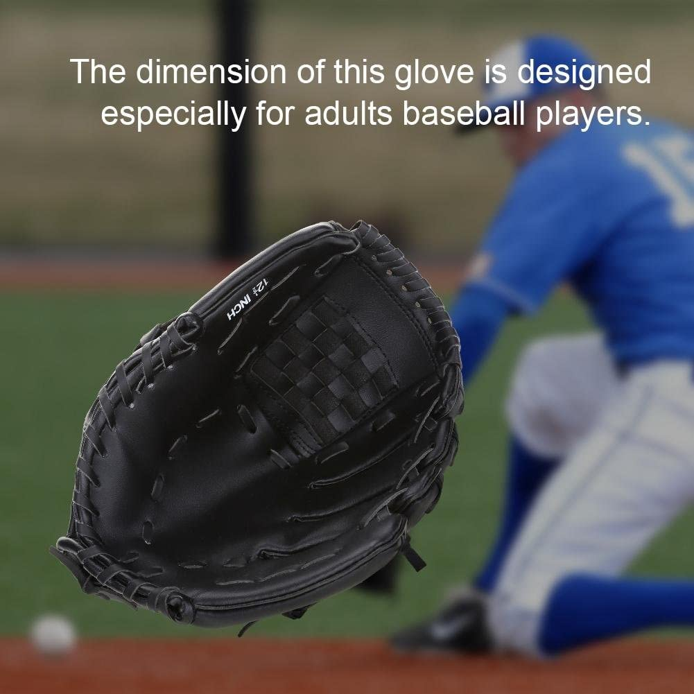 Accessori per Guanti da Baseball per Mancini Adulti 2 Colori per esercitarsi nella Competizione di Allenamento Dioche Guanto da Baseball
