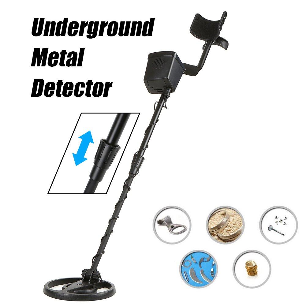 Detector de metales KKmoon Detector de metales GC-1027 Buscador de oro discriminatorio de alta precisi髇 4 LED LED subterr醤eo: Amazon.es: Bricolaje y ...