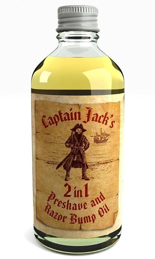 Aceite De Afeitado Y Aceite Para La Irritación 2 En 1 Captain Jack Reino Unido Hecho